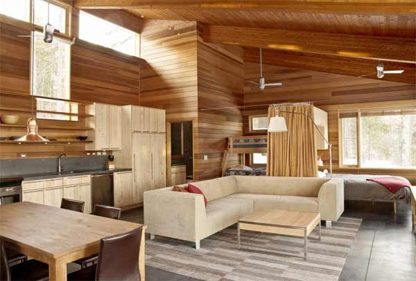 Small Home Interior Design Natural Wood Touch Erdexon