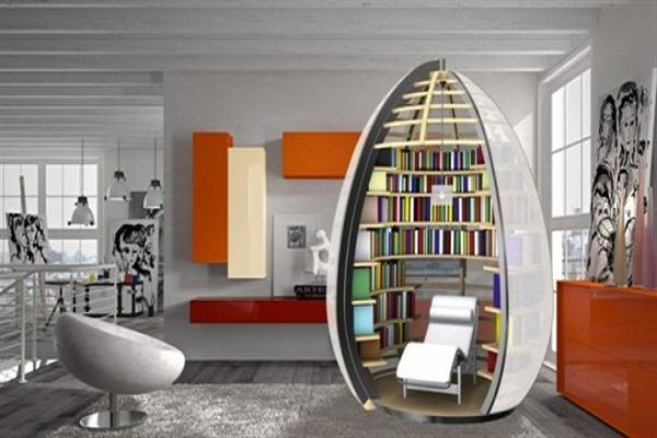 Small Home Libraries
