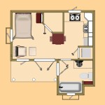 Small House Capitan Pool Hpuse Floor Plan View