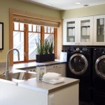 Small Laundry Room Design Remodeling Layout Decorating Interior