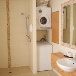 Small Laundry Toilet Home Interior Modern