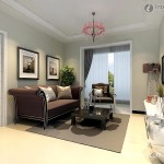 Small Living Room Decoration Design Effect Drawing Modern