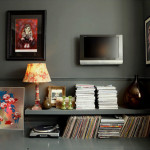Small Living Room Mount Wall Designs Home Architecture