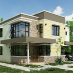 Small Modern House Designs Neutral Color Design Ideas