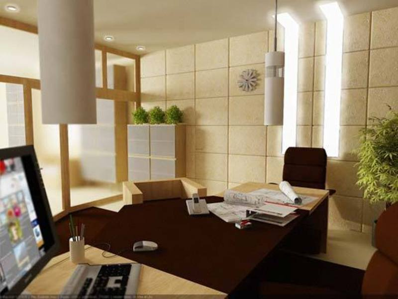 Small Office Design Ideas Modern Room