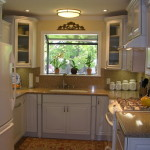 Small Shaped Kitchen West San Jose Traditional