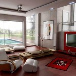 Small Space Design Ideas For Living Room Red Furniture