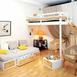 Small Space Loft Bed Teenager Chic Girls Bedroom Amazing Beds