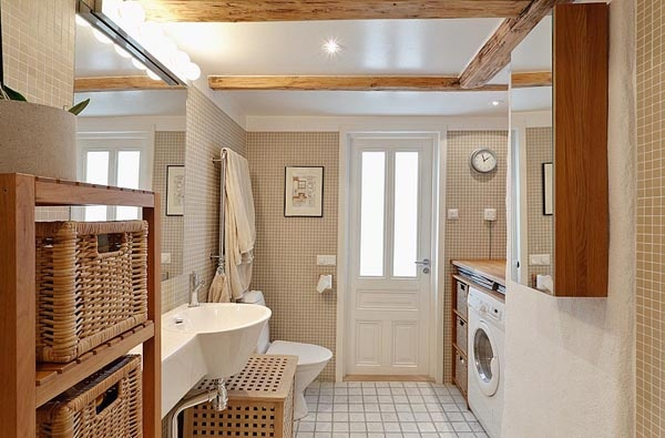 Small Spaces Laundry Room Bathroom Combo Mudroom