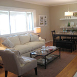 Small Spaces Living Dining Room Layout Chair