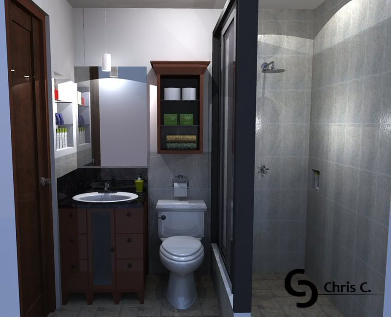 Small Toilet And Bathroom Dimension