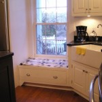 Small Window Seat Could Also Squeezed Into The Kitchen