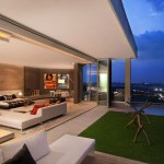Smart Home Concept Applied Three Level Penthouse
