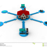 Smart Home Concept Royalty Free Stock Graphy Image