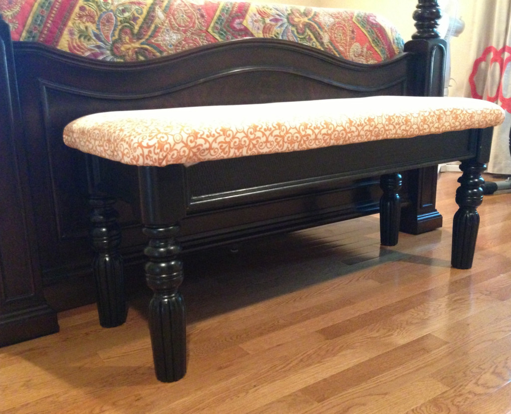 Sofa Table Repurposed End Bed Bench Love How For The