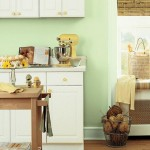 Soft Color For Small Kitchen Paint Ideas