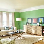 Soft Green Combine White Make Your Room Look More Bright
