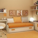 Soft Orang Paint Colors For Small Bedrooms Modern Interior Furniture