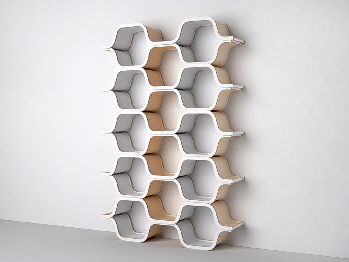 Solutions For Shelving Especially Like The Honeycomb Shelves