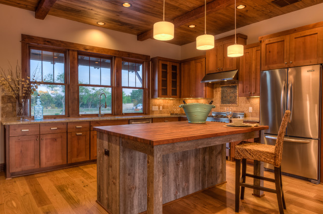 Some Rustic Modern Kitchen Floor Ideas Eco Friendly Home Furniture