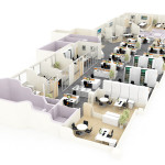 Southwark And Boon Office Planning Plan Space