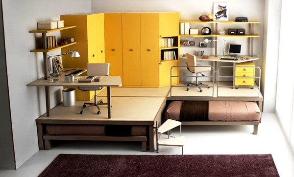 Space Saving Beds For Yellow