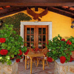 Spanish Colonial Hacienda Style Home The Ambience Tuscany