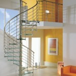 Spiral Staircases Glass Steps