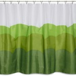 Spring Out Scenic Curtains For Bathroom