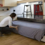 Square Foot Apartment Very Creative Storage Solutions