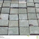 Stack Small Concrete Blocks For Pavement Similar Construction
