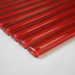 Stacked Glass Tile Sstrip Red