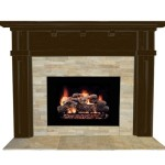 Stacked Stone Fireplace Facing Carden Gold Collection Beiges