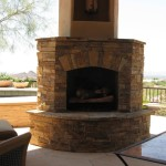 Stacked Stone Fireplace For Corner Favorite Places Spaces