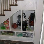 Stair Storage Under Stairs Closet Design Ideas Comqt