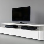 Stand Ideas For Your Home White Minimalist Plasma