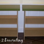 Started Out Two Decorator Tables Built Mdf Have The