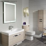 Status Designer Backlit Illuminated Bathroom Mirror Mlb
