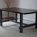 Steel Dining Room Table Traditional Tables Calgary