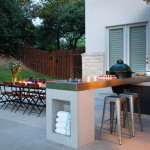 Steel Outdoor Kitchen Countertops Style Improving