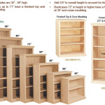 Step Select The Right Size Bookcases