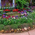 Stone Edging Ideas For Flower Beds And Yard Landscaping