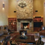 Stone Fireplace Fireplaces Pictures