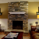 Stone Fireplace How Build Chimney