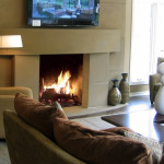 Stone Fireplace Mantels Modern Fireplaces Chicago Tri