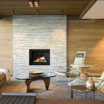 Stone Fireplace Modern Focal Point