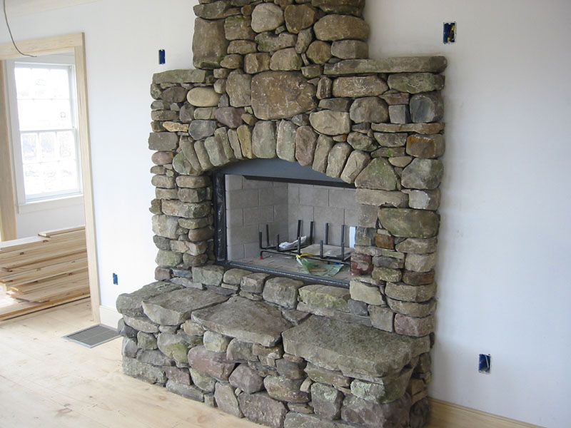Stone Fireplace Pictures Natural Manufactured And