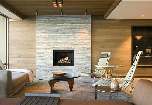 Stone Fireplaces Add Warmth And Style The Modern Home
