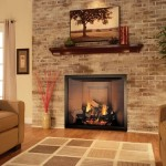 Stone Gas Fireplace Flush Front Other Rooms