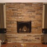 Stone Natural Veneer Cultured Fireplace Stacked